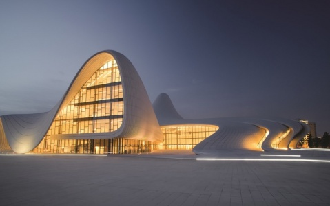Culture center of Hayder Aliyov Baku
